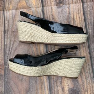 Arturo Chiang espadrille wedges size 9